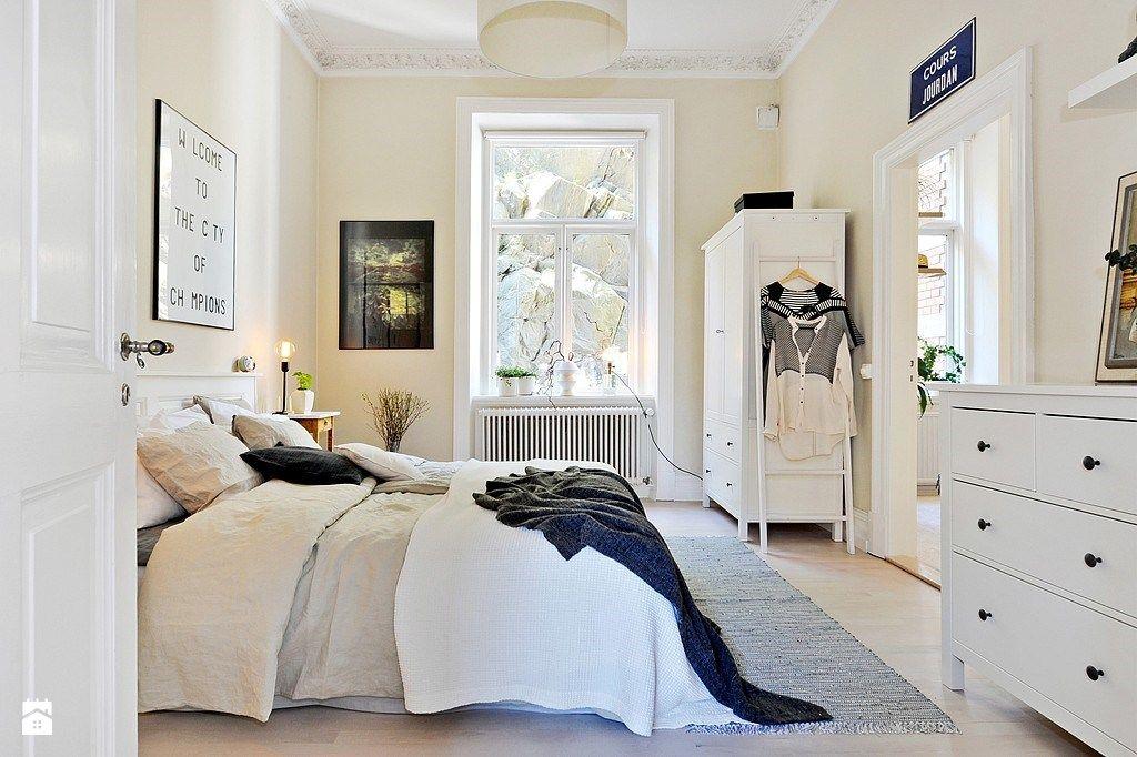Sypialnia styl Skandynawski zdjęcie od Casa Bianca Sypialnia