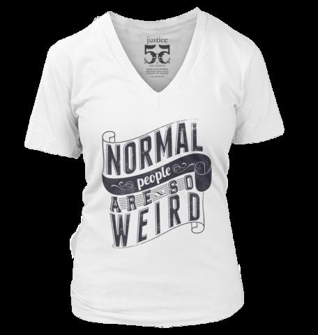 Massive Weirdo Funny Womens Ladies T-Shirt