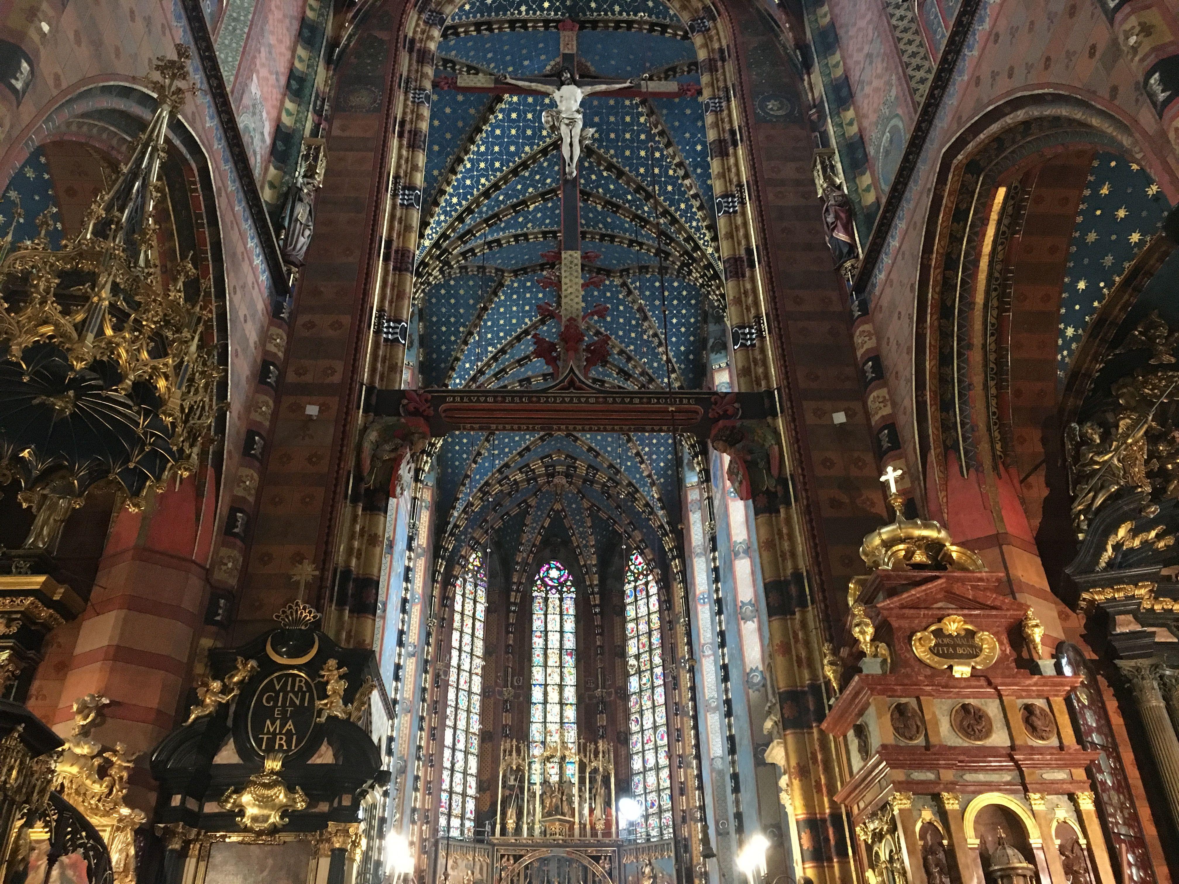 Basílica de Santa María de Cracovia Kościół Wniebowzięcia Najświętszej Maryi Panny