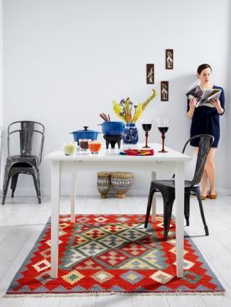 Ikea Kelim wohntrend der neue stilmix