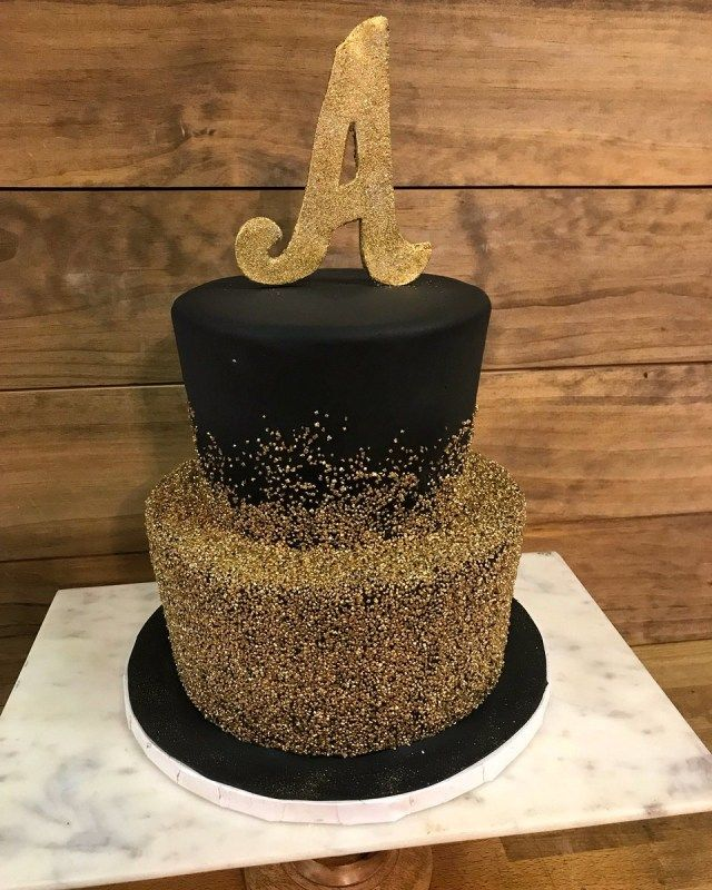 21+ Elegant Picture of Black Birthday Cake -   12 black cake Birthday ideas