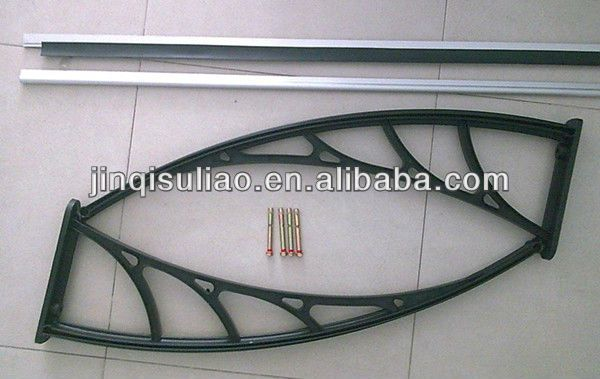 DIY Economic Polycarbonate Window Awning For Balcony Patio And Parts