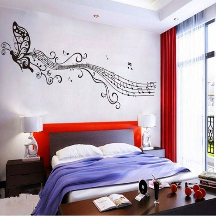musical bedroom decorating ideas  decorating a bedroom