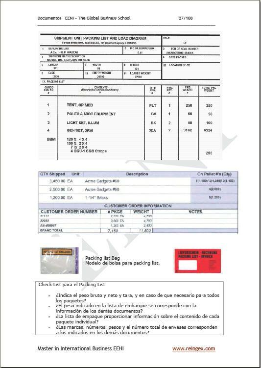 Documentos comercio exterior documentos de comercio for Comercio exterior