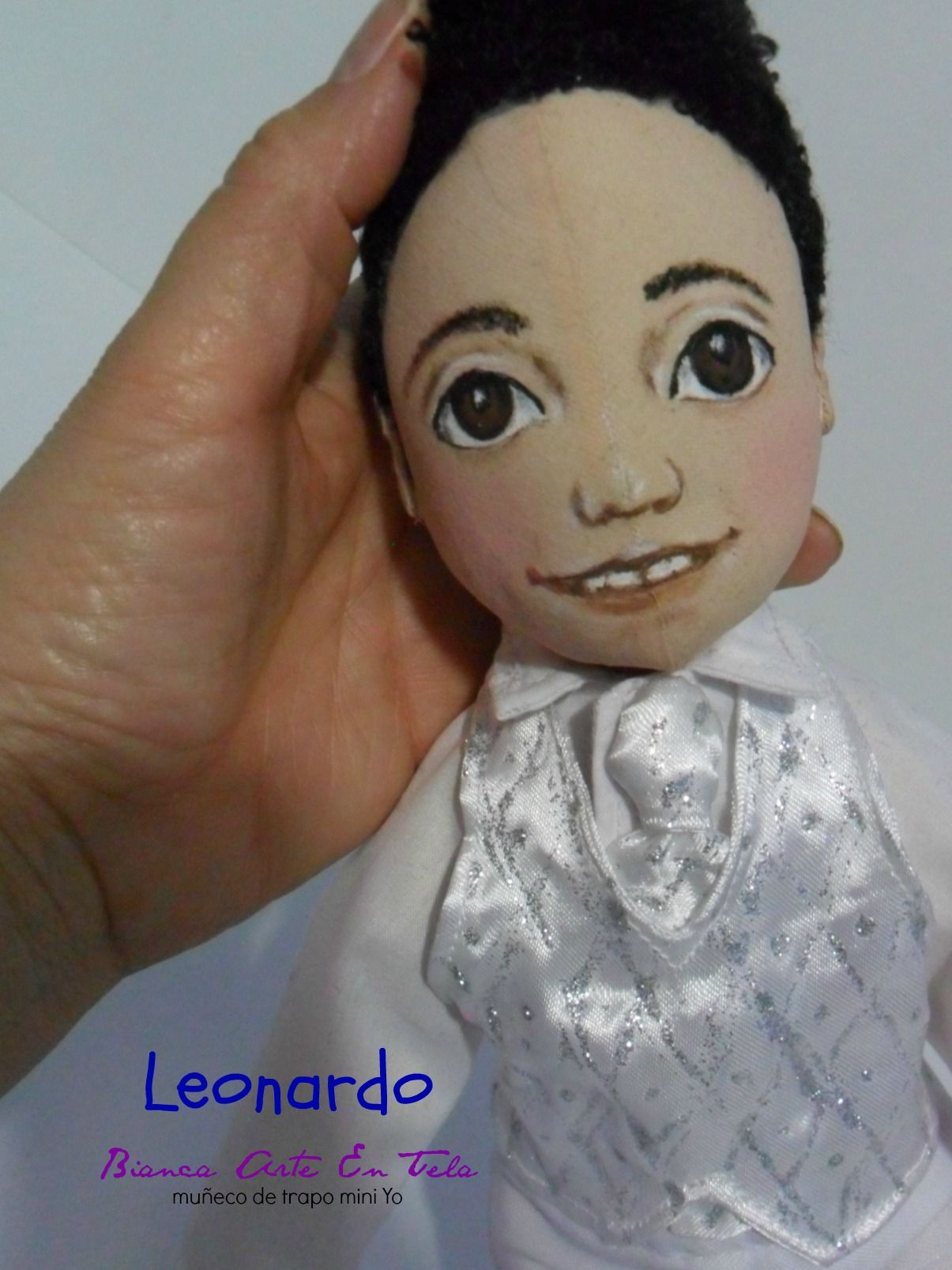 Muñeco hecho a mano personalizado