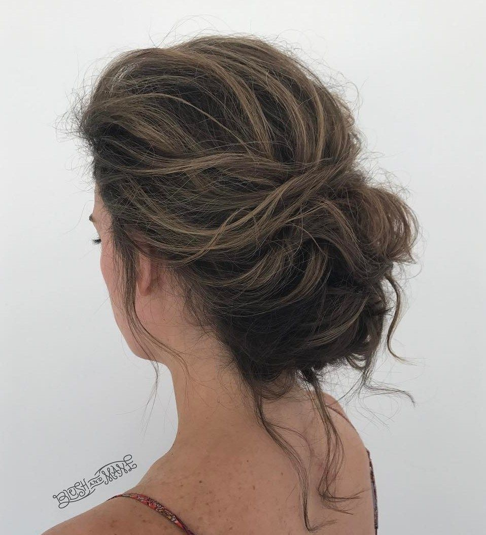 11 Trendiest Updos for Medium Length Hair  Bridesmaid hair makeup