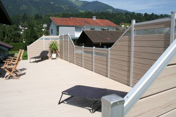 UPM ProFi Fence Sichtschutzzaun, Wpc zaun, Sichtschutz