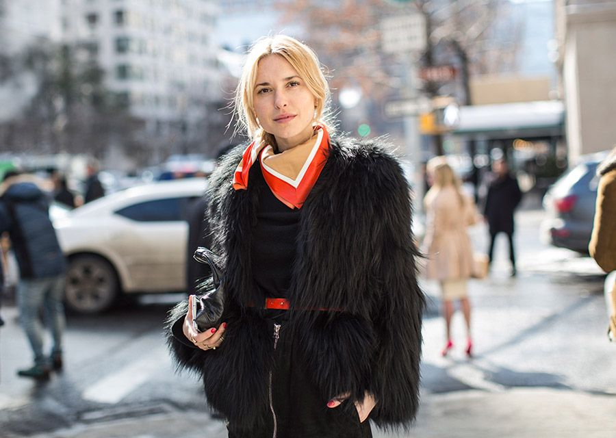Pernille Teisbaek in NYC