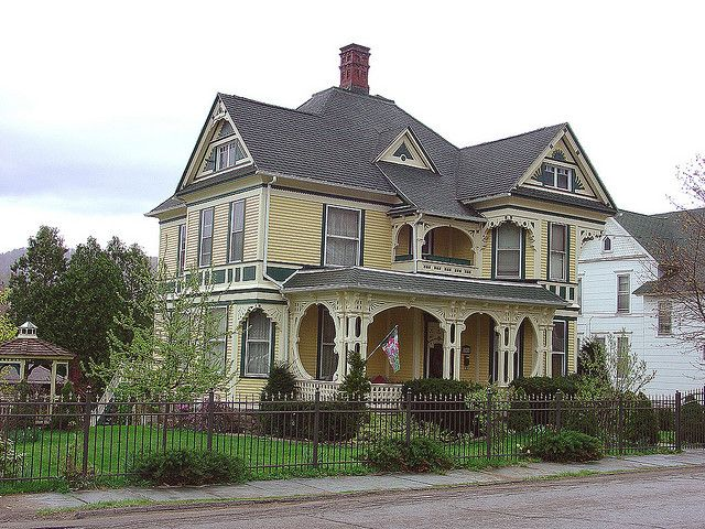 Philo C. Blaisdell, father to George G. Blaisdell, made his home here in Bradford, Pennsylvania.