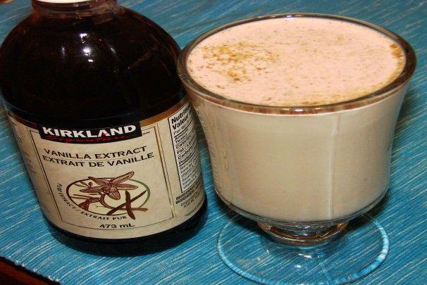 Vanilla and Cinnamon Milk. Photo by Boomette