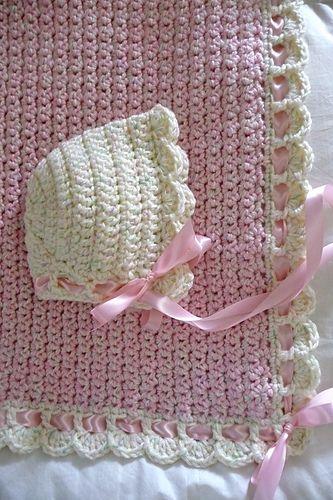 Ravelry: buttercup11\'s 0055A - Tiramisu Baby Blanket | bebé ...