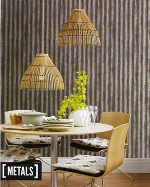RECLAIMED Fine Decor Wallpaper2701-22334 #urban #industrial #metal