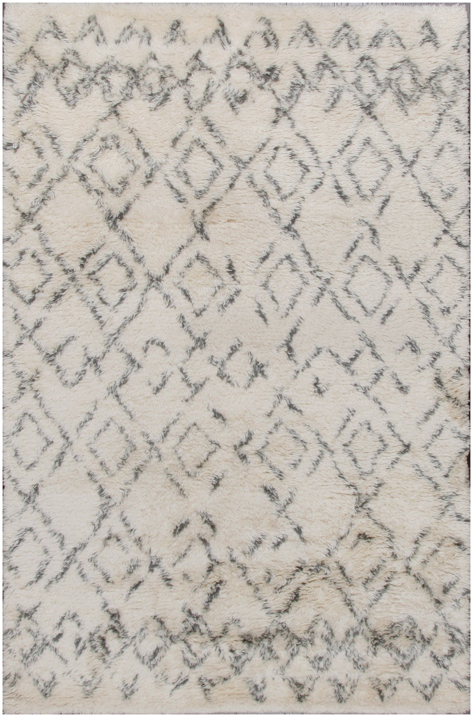 Oatmeal johnsen living room pinterest products rugs and wool - Moroccan Beni Ourain Beige Wool Rug 12186