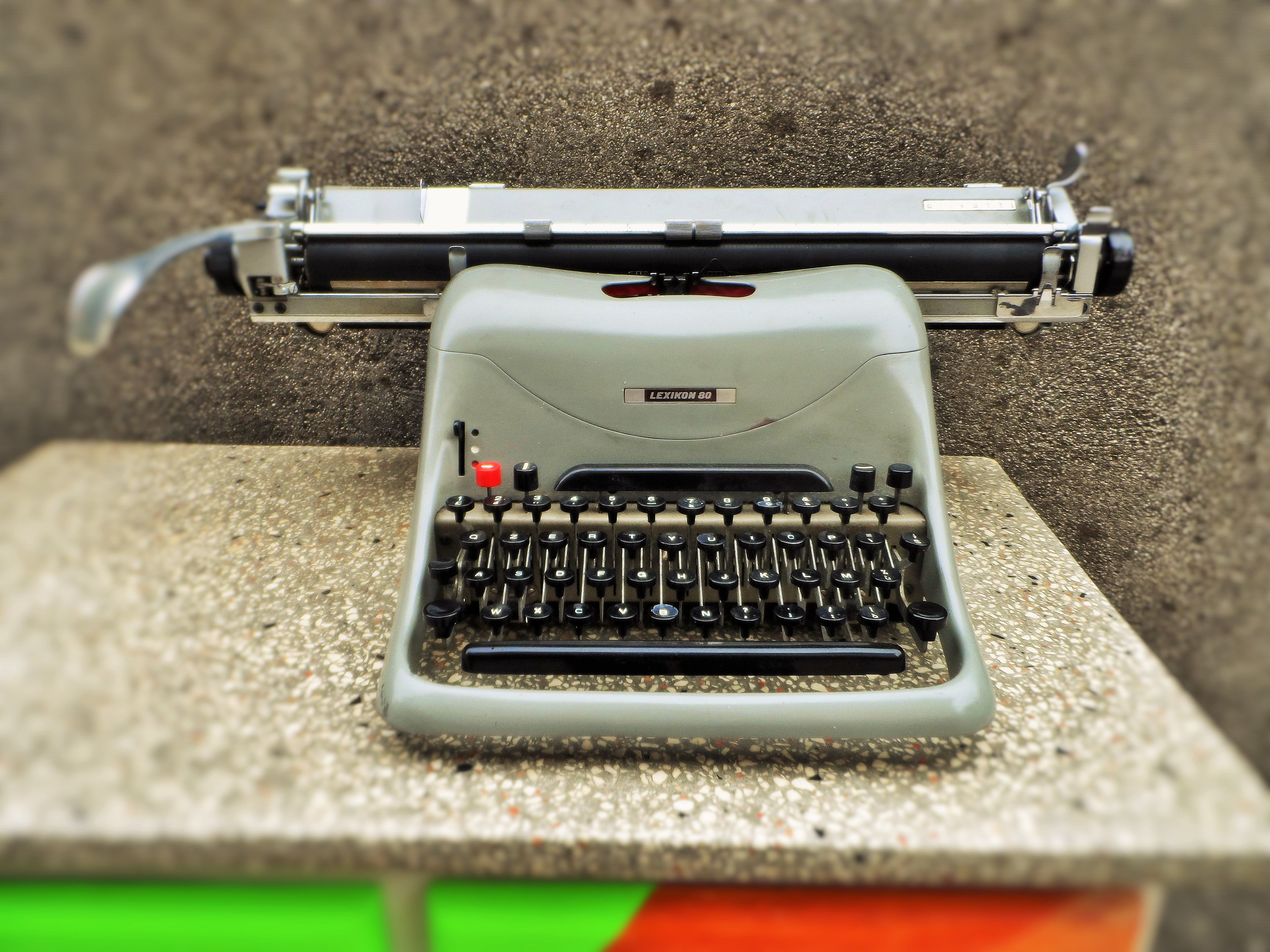 Olivetti Lexicon 80 #old #vintage #objects #writingmachine