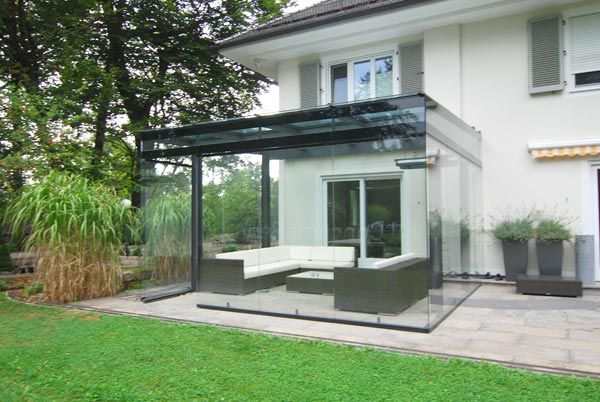 Wintergarten Anbau veranda diefenthaler visionen aus glas building stuff