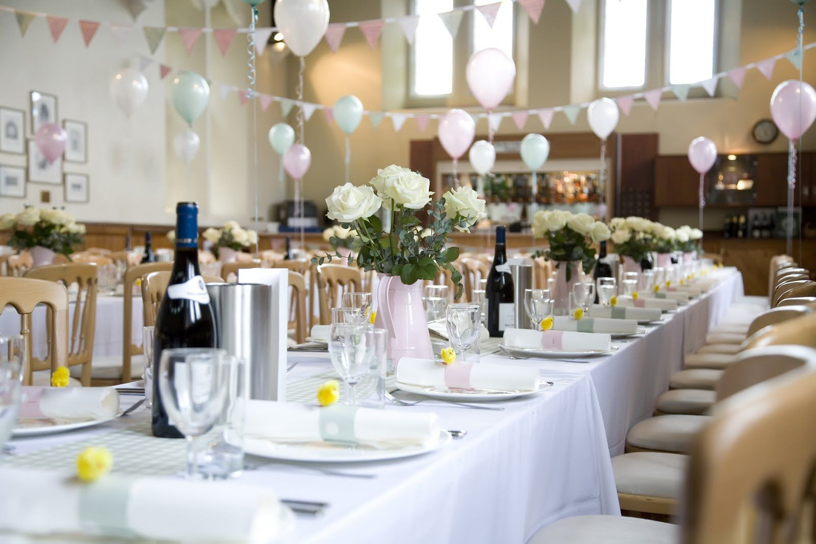 Light and airy village hall wedding decor party ideas pinterest light and airy village hall wedding decor junglespirit Images