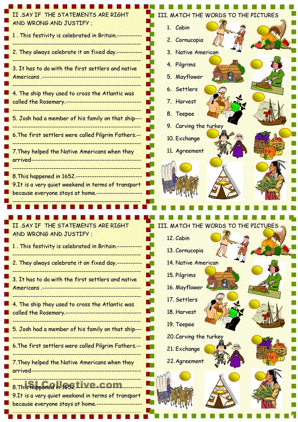 Thanksgiving Reading Comprehension Reading Comprehension Worksheets Reading Comprehension Comprehension Worksheets [ 1440 x 1018 Pixel ]