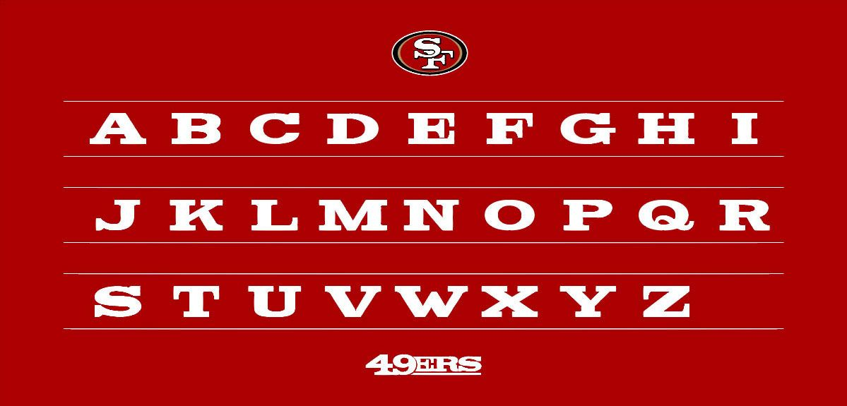 FAITHFUL FONT | 49ERS on Behance | Projects to Try | Fonts