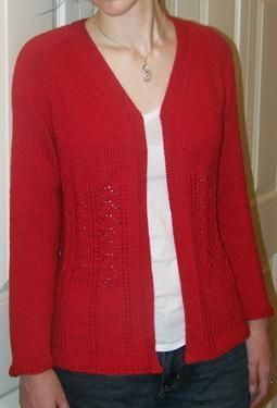 25c7274a4 Plus Size Really Fits Top Down Cardigan For All Seasons - Knitting Patterns  by Kathy Cairns Hendershott