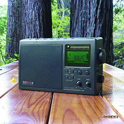 Amazon com: C  Crane CCRadio-2E Enhanced Portable AM FM