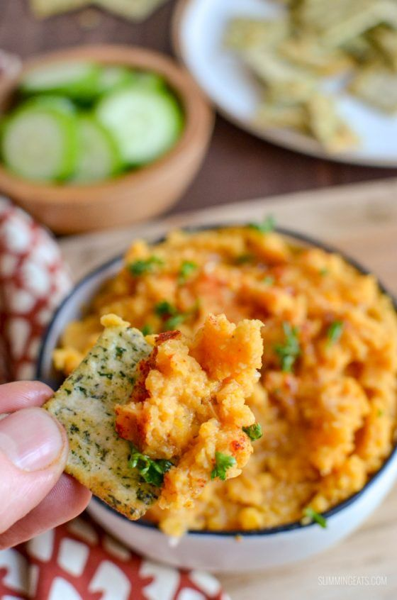 Roasted Butternut Squash and Butter Bean Dip | Slimming World