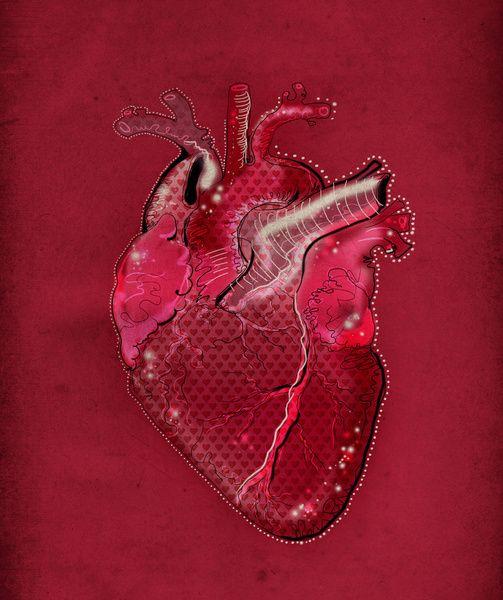 """""""Digital Heart"""" by Deniz Erçelebi."""