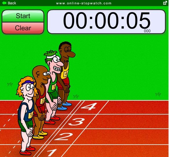 checkout this fun classroom timer based on the world games theme