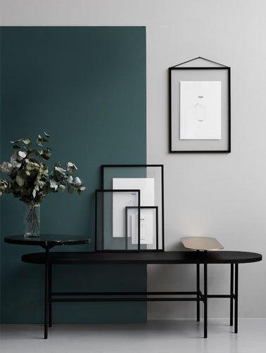 moebe bilderrahmen frame schwarz wohnzimmer pinterest wohnzimmer interieur und wandfarbe. Black Bedroom Furniture Sets. Home Design Ideas