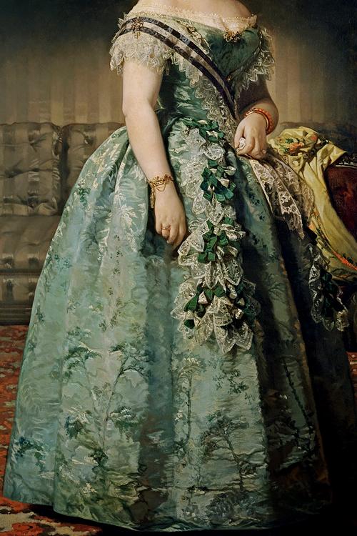 INCREDIBLE DRESSES IN ART (65/∞)Josefa Coello de Portugal by Federico de Madrazo, 1855