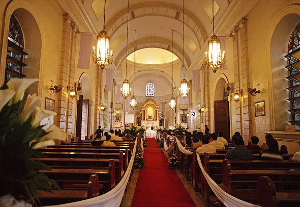 Malate Church In Manila Weddings The Philippines