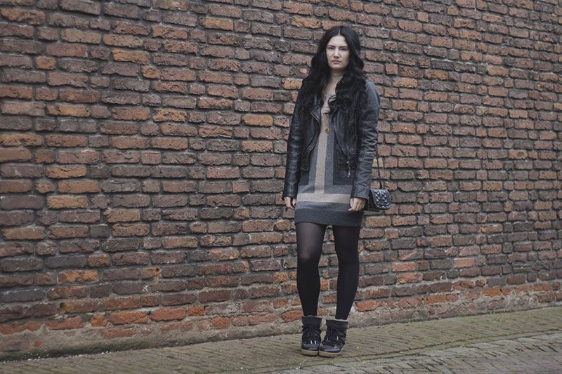 SWEATER DRESSING   TheChicItalian   Outfit with my Rag & Bone sweater dress, Isabel Marant Nowles boots & more on the blog