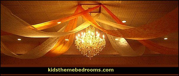 decorating with gossamer gossamer fabric is a seethrough decorating material used to create - Gossamer Fabric