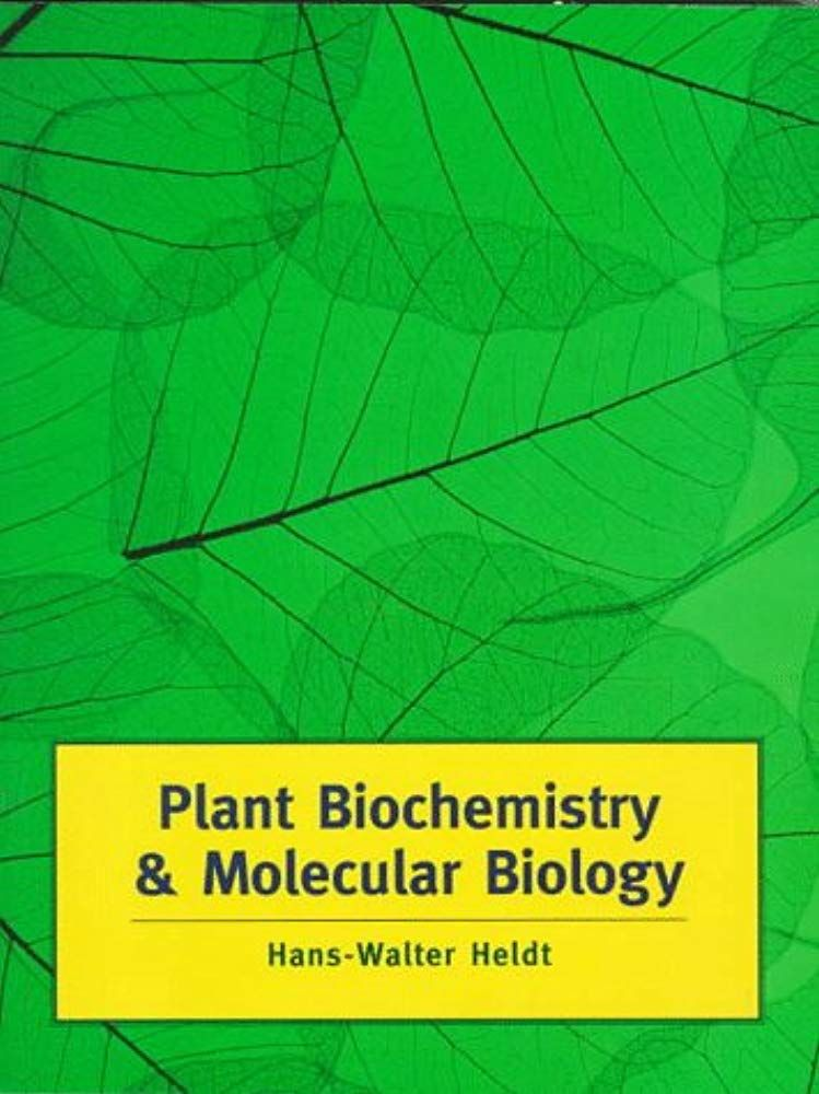 Read Now Biochemistry And Molecular Biology Of Plants Book And