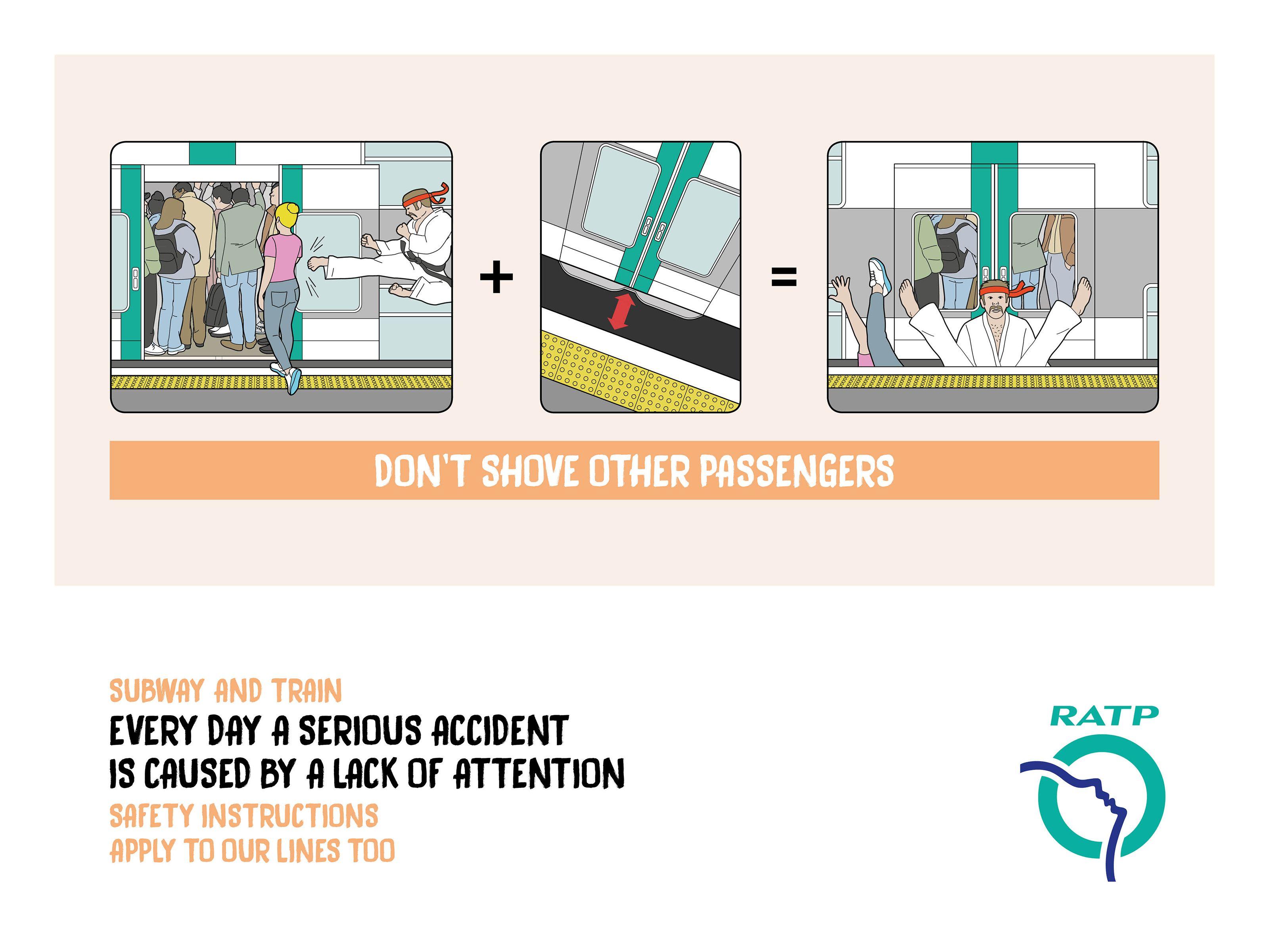 RATP: Safety instructions 3