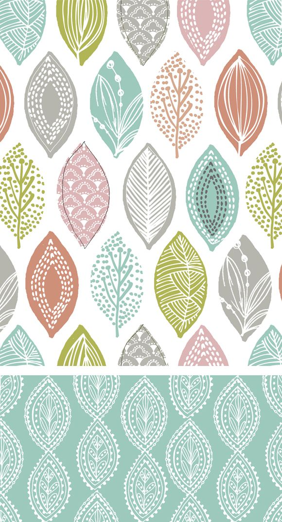 wendy kendall designs – freelance surface pattern designer » leaf pod