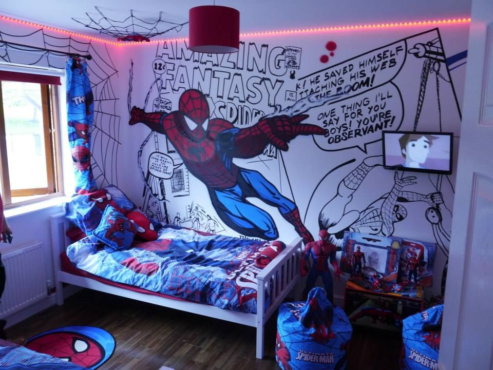 Dulux Marvel Avengers Bedroom In A Box Officially Awesome: I'd've Loved A Room Like This When I Was A Kid