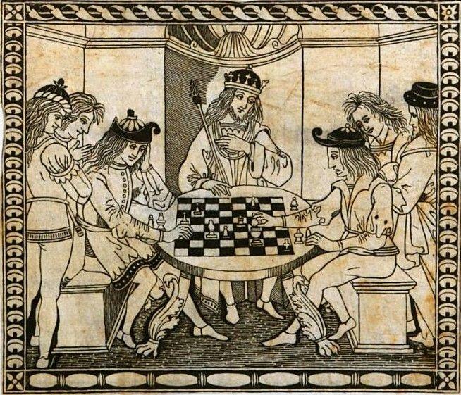 El tablero de ajedrez - Ludus Scacchórum