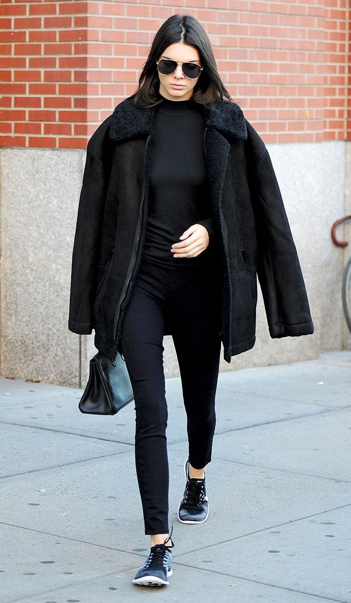 new product edd43 5dd0c The Nike Sneakers Kendall Jenner is Obssesed With via  WhoWhatWear