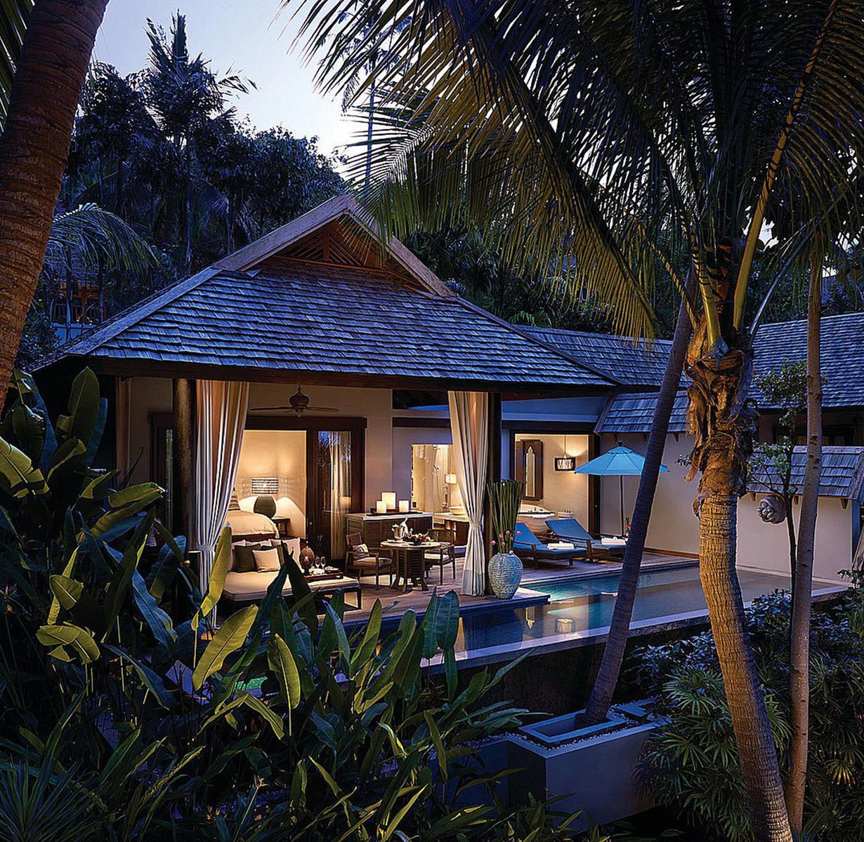 7 Luxurious Honeymoon Destinations Hotels: Four Seasons Resort Koh Samui Thailand Ang Thong, Thailand