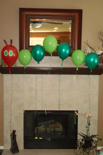 Caterpillar Balloons!