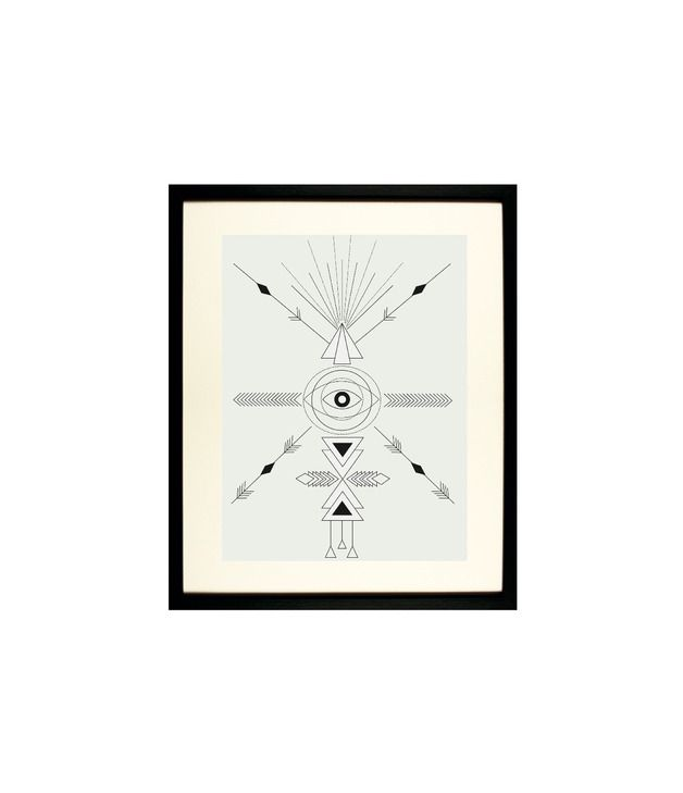 Arrow Eye Poster