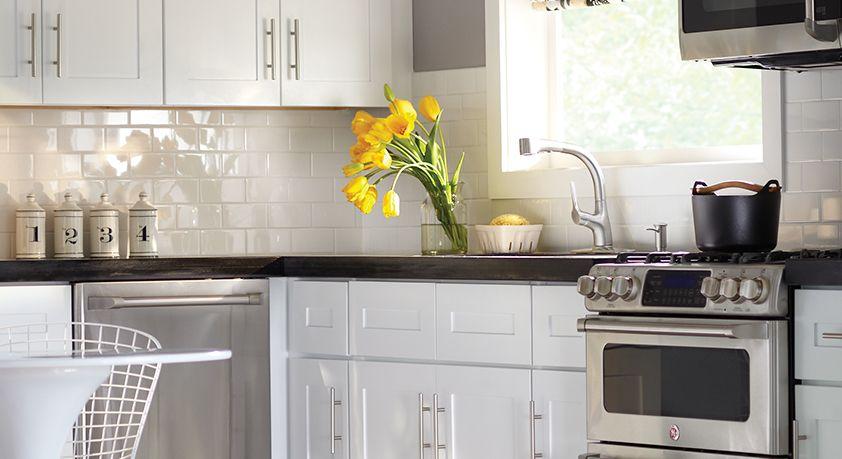 Newport Pacific White Home Decorators Cabinetry Reno