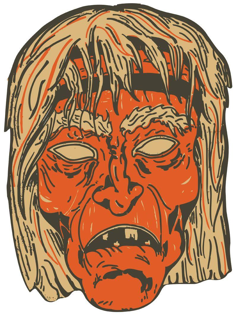1930s Witch Mask Vintage Halloween Witch Halloween Prints Vintage Halloween
