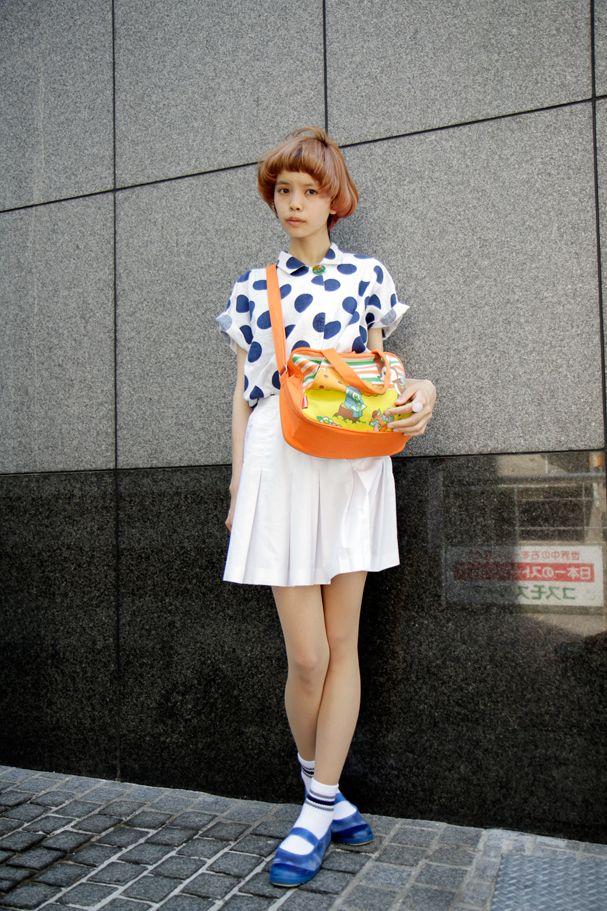 polka dots and pop bag ! ! ! !