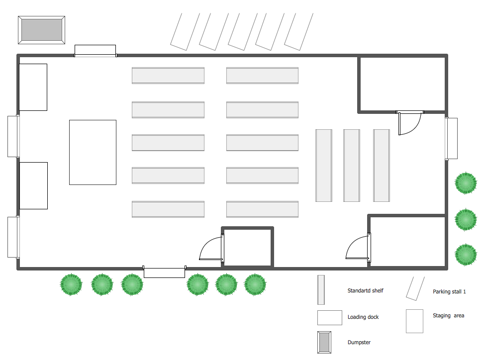 Warehouse Security Quiz  Building Plans  Plant Layout Plans