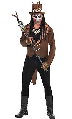Adult Witch Doctor Costume Premier … | Pinteres…