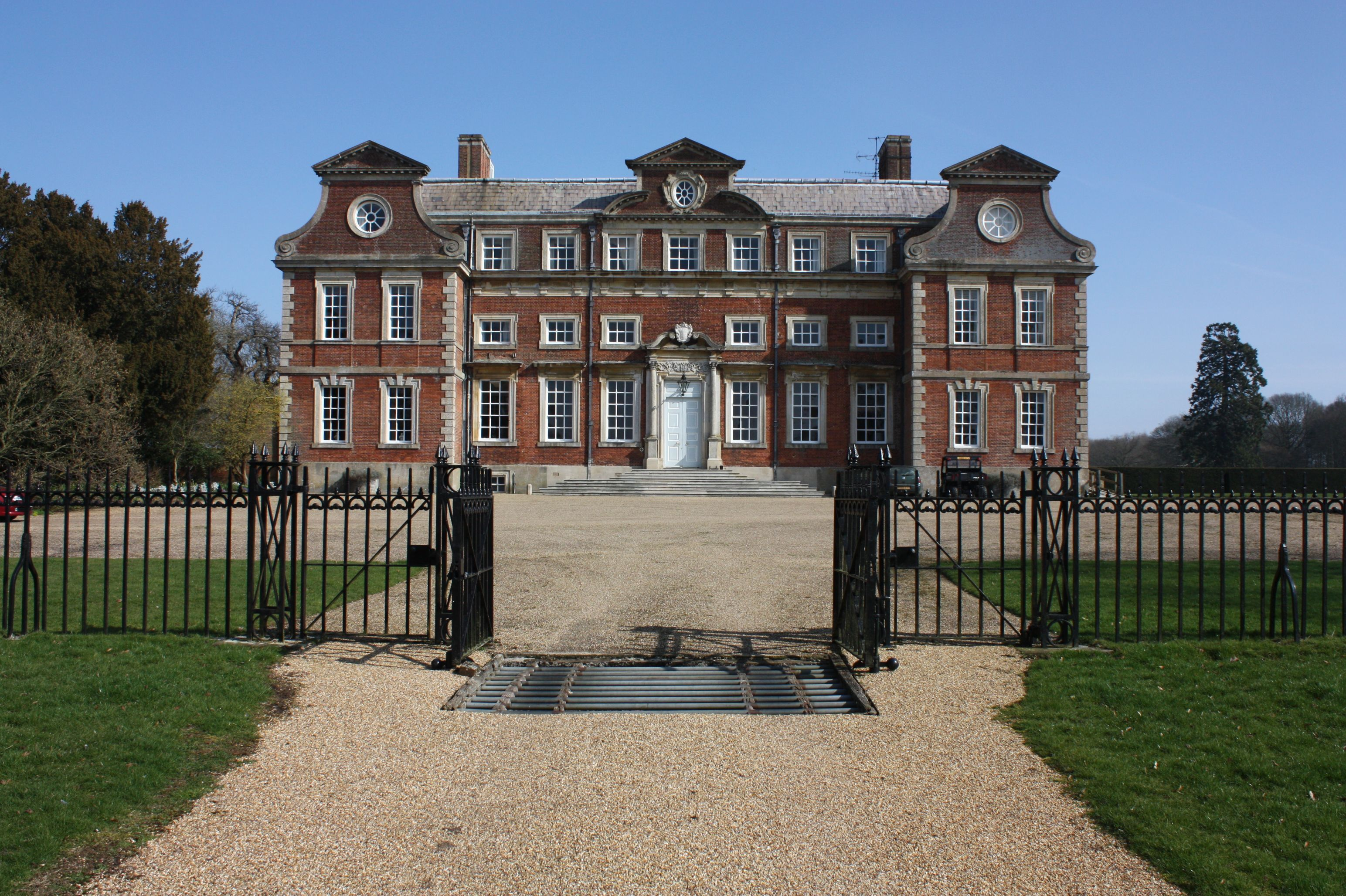 Raynham Hall is a country house in Norfolk, England. For ...