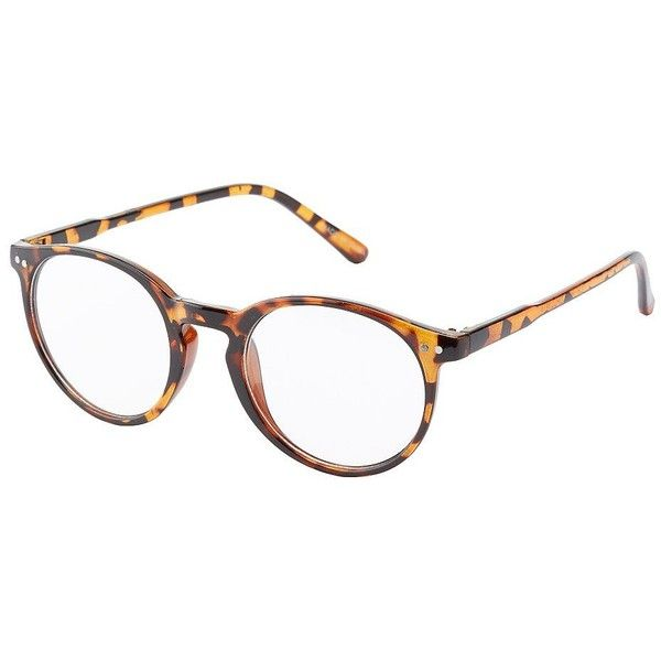 5193adbadda2 Charlotte Russe Round Fashion Glasses ( 5.99) ❤ liked on Polyvore featuring  accessories