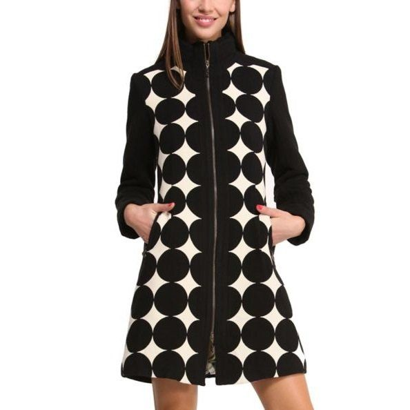 Desigual Mysterious Night Coat Eden Fashion Boutique Find