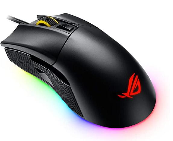 Asus Rog Gladius Ii Aura Sync Usb Wired Optical Ergonomic Gaming Mouse Dpi Target Button 12000 Dpi Gaming Mouse Asus Rog Asus